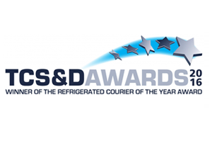 Second Time Winners of the 2016 'Refrigerated Courier of the Year' Award